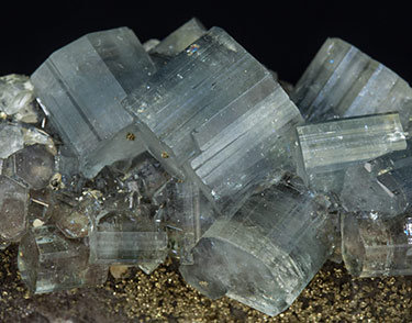 Fluorapatite with Pyrite and carbonates.