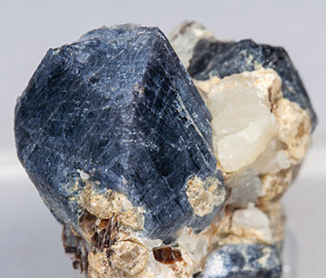 Sapphirine with Quartz and Mica.