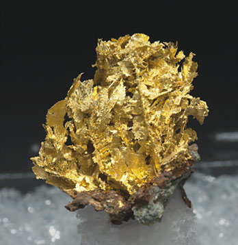 Gold (variety electrum). Side