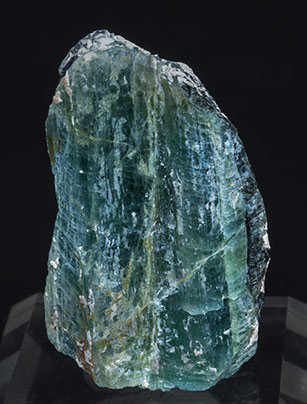 Grandidierite with Feldspar, Schorl and Diopside.