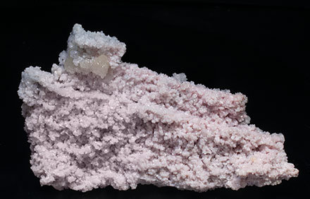 Rhodochrosite with Calcite.