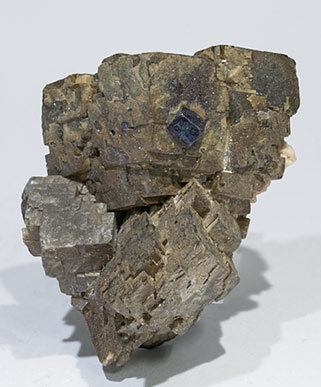 Siderite with Fluorite and Dolomite.