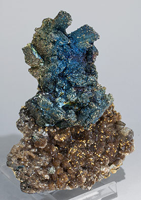 Arsenopyrite with Pyrite, Muscovite and Quartz. Side