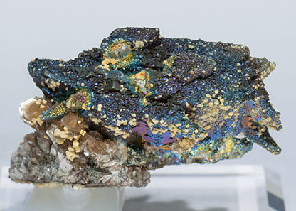 Arsenopyrite with Pyrite and Muscovite. Top