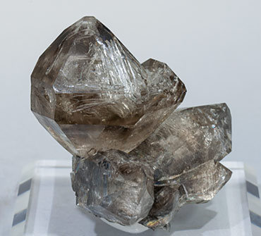 Quartz (variety smoky).
