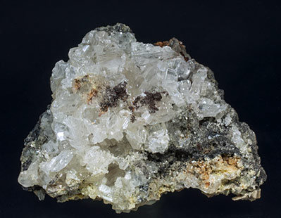 Cerussite with Galena.