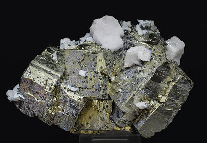 Pyrite with Dolomite and Sphalerite.
