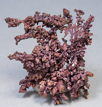 Copper with Cuprite. Rear
