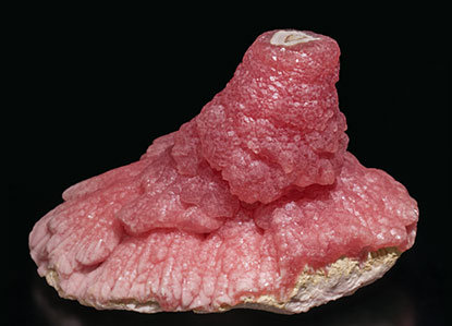 Rhodochrosite. Side