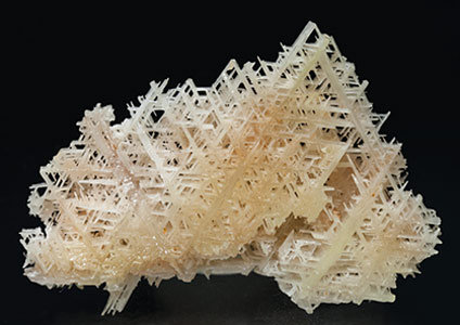 Cerussite. Rear