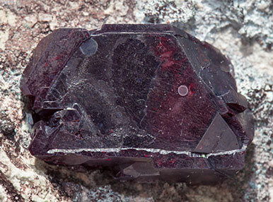 Cuprite with Plancheite.