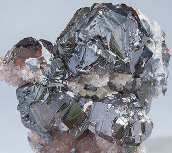 Sphalerite with Galena and Quartz.