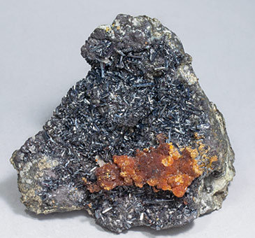 Hutchinsonite with Orpiment and Pyrite.