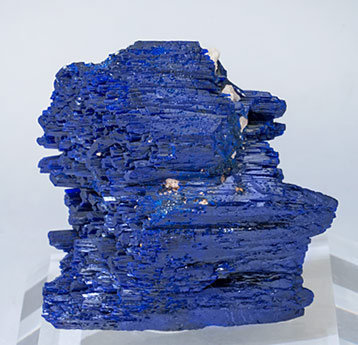 Azurite doubly terminated.