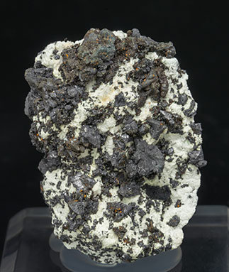 Villamanínite with Calcite.