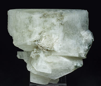Orthoclase (variety adularia) with Chlorite.