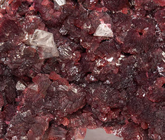 Beta-Roselite with Calcite.
