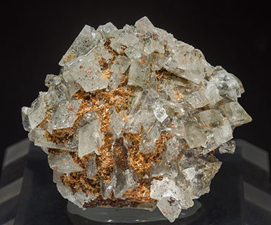 Hyalophane (Series) with Rutile.