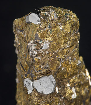 Sperrylite with Chalcopyrite.