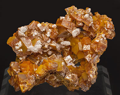 Wulfenite with Willemite.