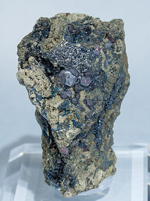 Galkhaite with Galena.