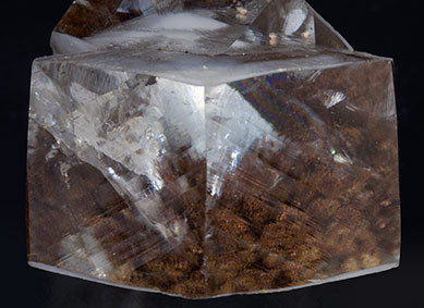 Calcite with inclusions. Top