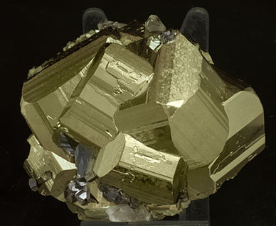 Pyrite with Quartz and Tetrahedrite. Front