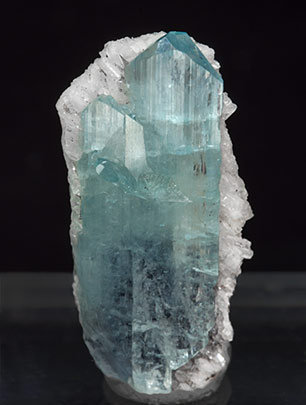 Euclase with Calcite.