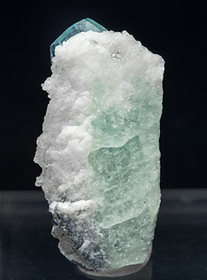 Euclase with Calcite. Rear