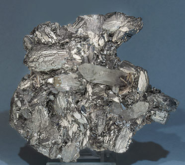 Arsenopyrite with Quartz and Muscovite.