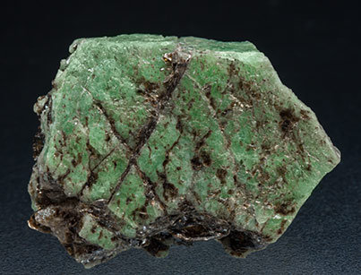 Beryl (variety emerald) with Phlogopite.