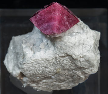 Spinel with Calcite. Top