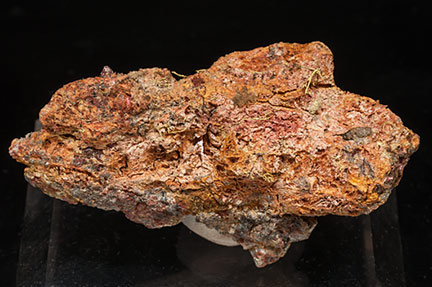 Gold (electrum variety) with Erythrite.