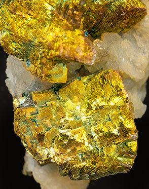 Pyrite with Baryte.