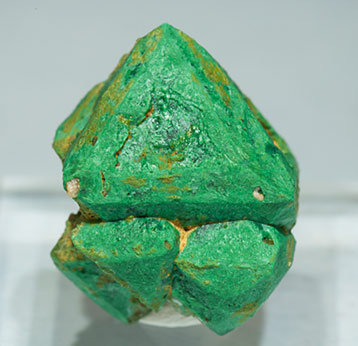 Malachite after Cuprite. Front