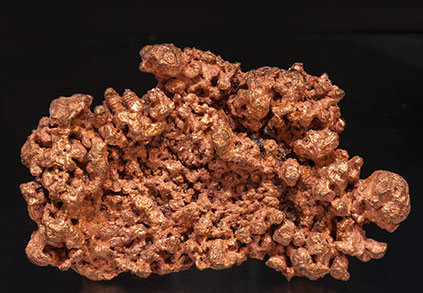 Copper (neoformed). Front