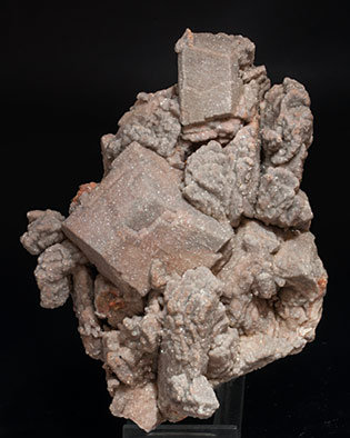Microcline with Albite and Quartz.