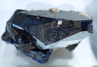 Azurite with Cerussite. Top