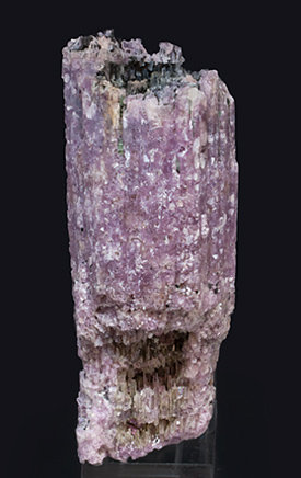 Lepidolite after Elbaite with Elbaite. Rear