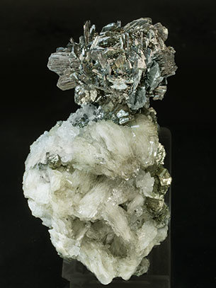 Marcasite with Barite, Pyrite and Quartz.