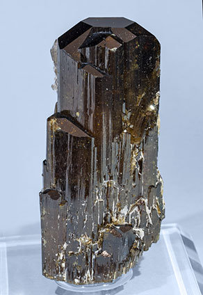Elbaite with Mica and Quartz. Side