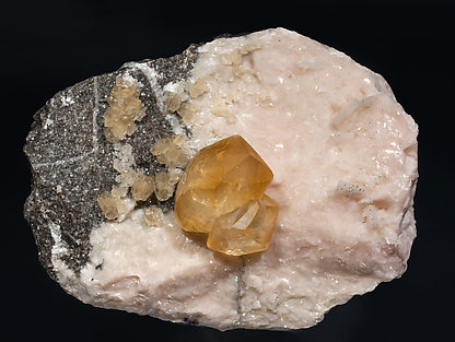 Calcite with Dolomite.