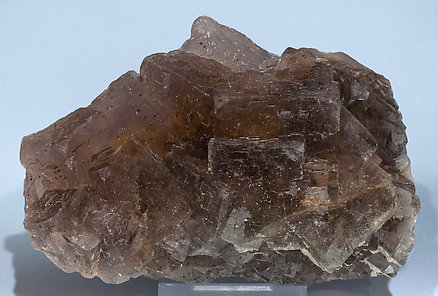 Fluorite with Baryte. Front