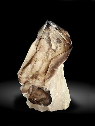 Scepter Quartz (variety smoky).