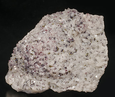 Cinnabar with Chalcopyrite and Dolomite.
