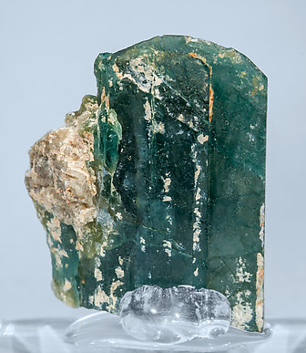 Grandidierite with Feldspar. Rear