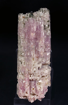 Lepidolite after Elbaite with Elbaite.