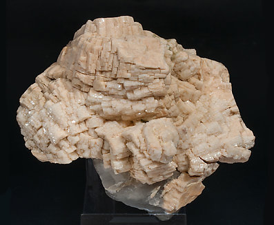 Orthoclase with Quartz (variety smoky).