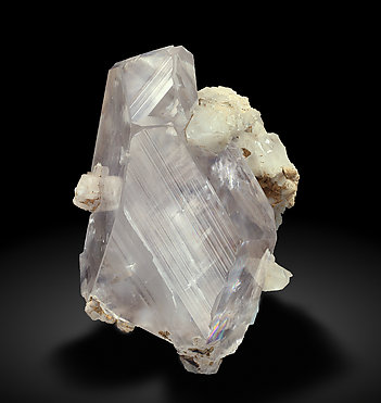 Calcite with Aragonite. Side