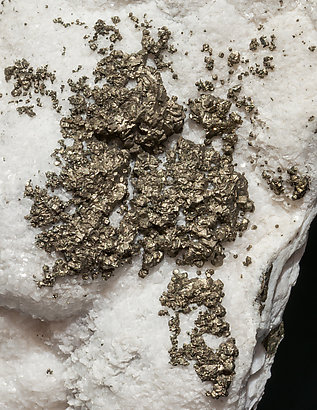 Pyrite with Calcite-Dolomite.